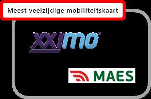 Maes mobiliteitskaart
